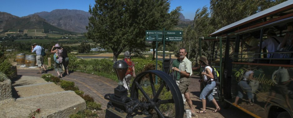 Wine Tram Tours in Franschhoek