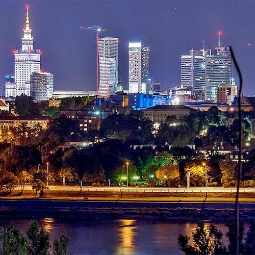 Book cheap flights to Warsaw, Poland