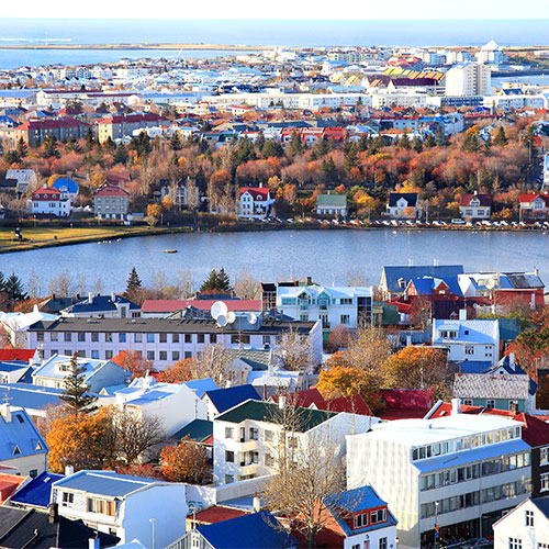 Book cheap flights to Reykjavik, Iceland