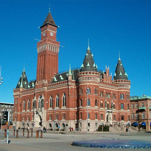 Book cheap flights to Helsingborg, Sweden