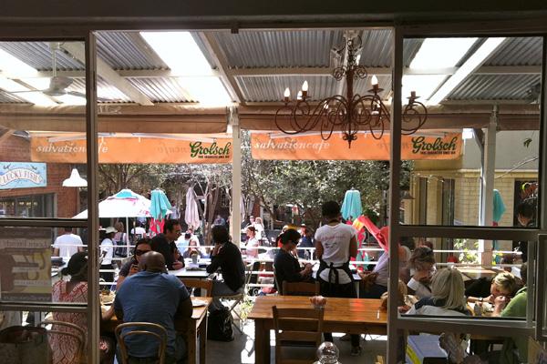 Salvation Cafe at 44 Stanley in Johannesburg