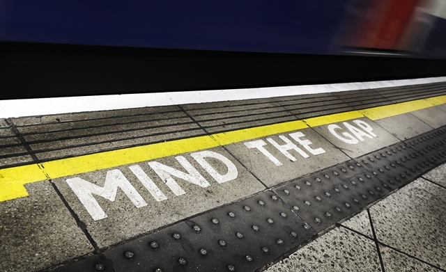 Mind the Gap in London Tube Stations