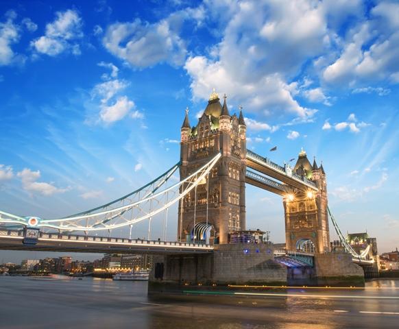 Not London Bridge! This is Tower Bridge