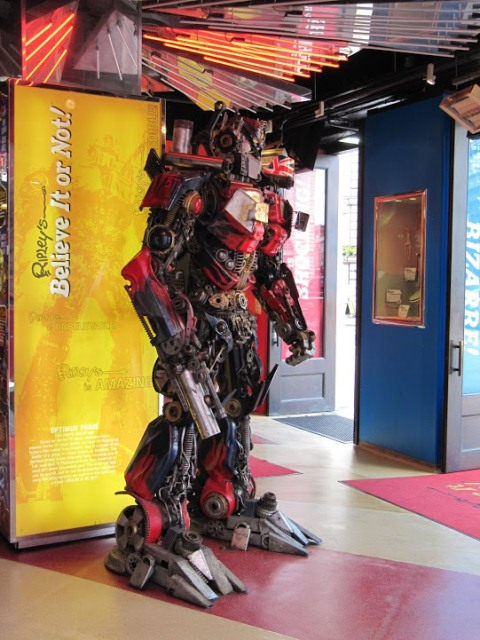 The Ripley's Believe It or Not! experience in London
