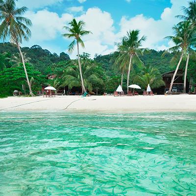 Tropical Island Africa
