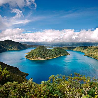Tropical Islands in South America