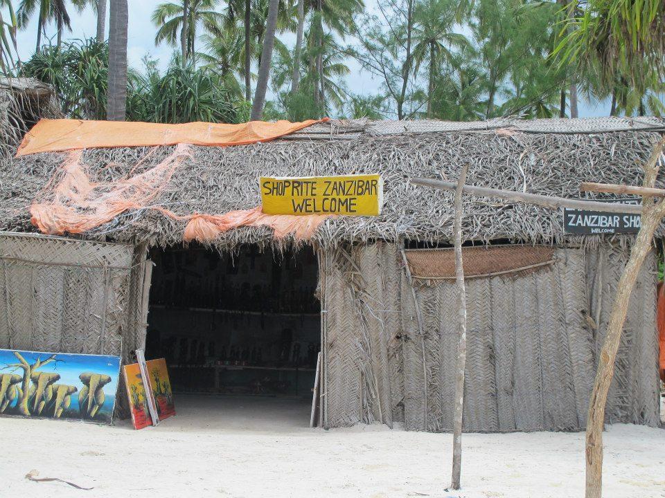 A 'Shoprite' store in Zanzibar