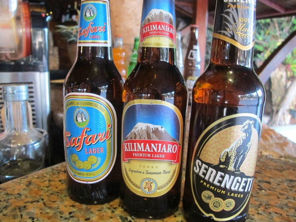 A Collection of Tanzanian Beers