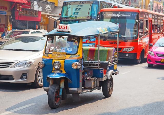 Public Transport in Bangkok Thailand