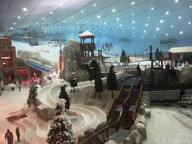 Dubai at Christmas