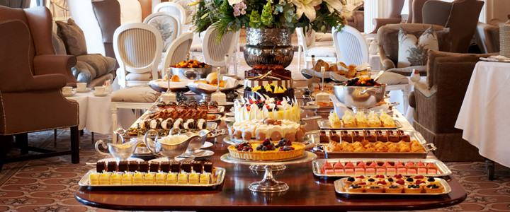 High Tea at the Mount Nelson Hotel