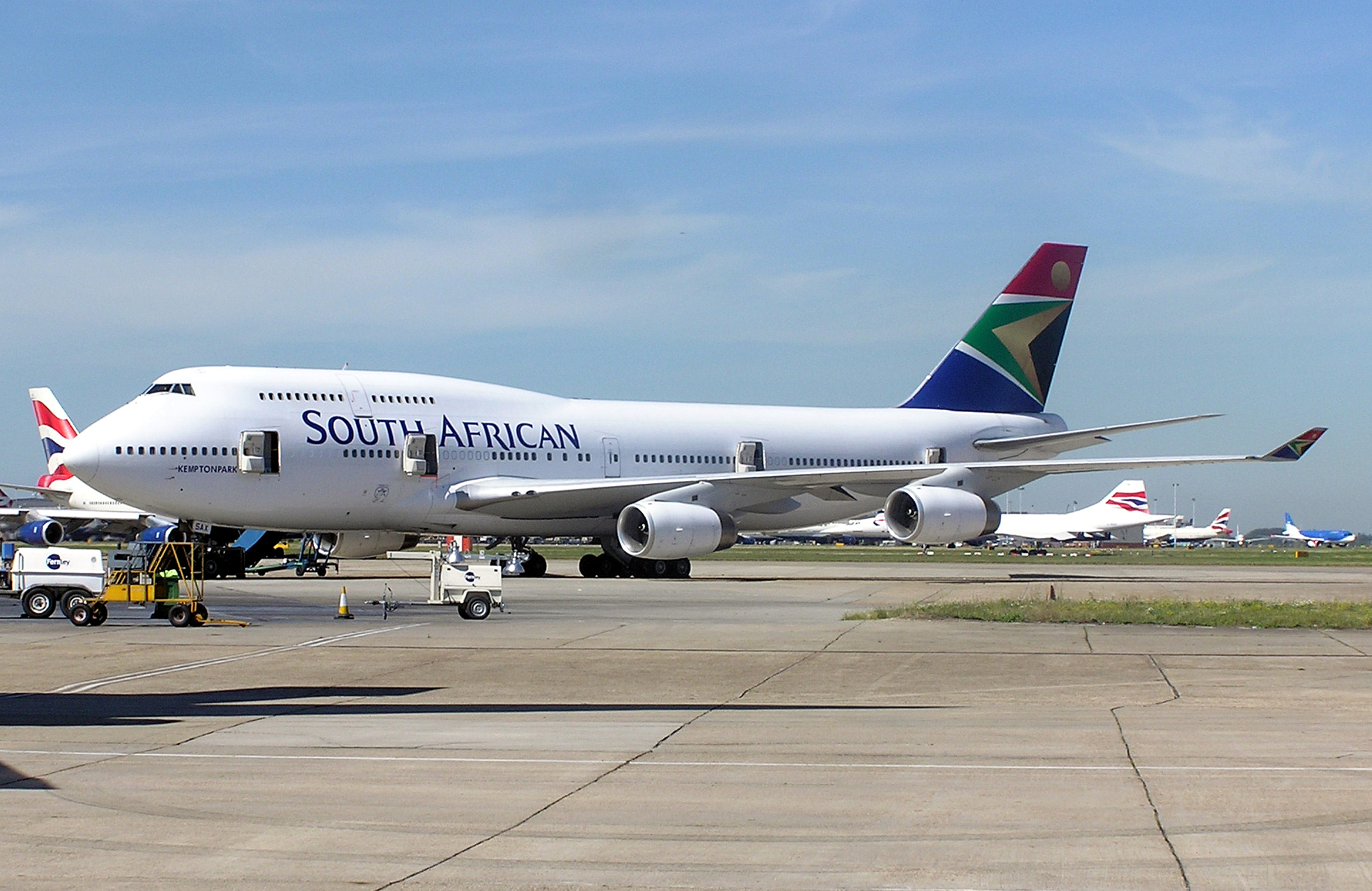 South African Airways Aircraft