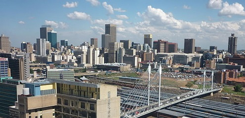 Johannesburg city centre