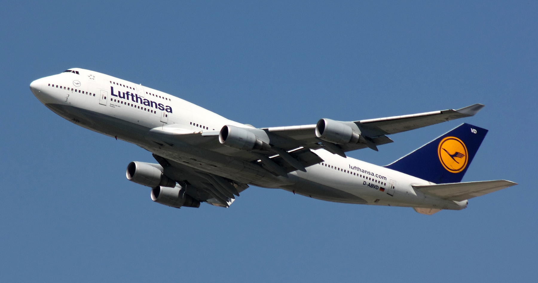 Lufthansa B744 D-ABVD