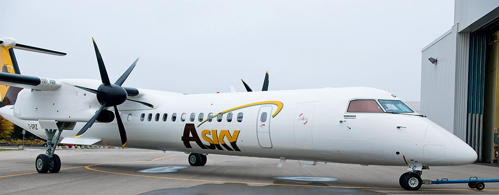 Asky airlines aircraft