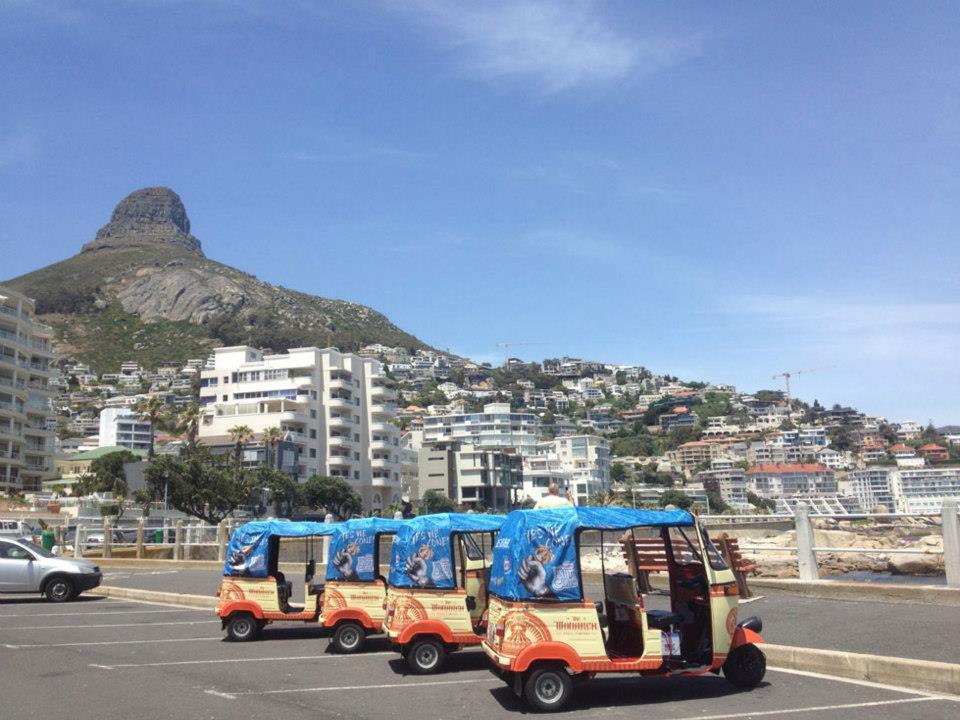 Monarch Tuk Tuk's in Cape Town