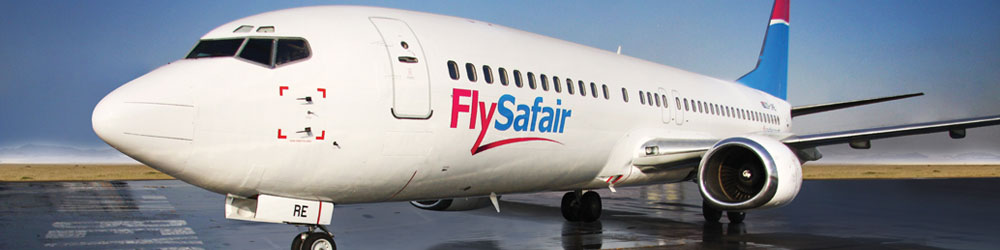 FlySafair aircraft