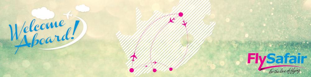 FlySafair destinations