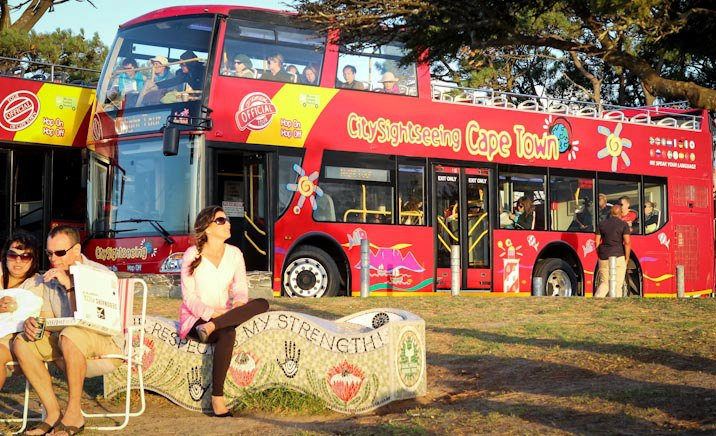 CT City Sightseeing Red Bus