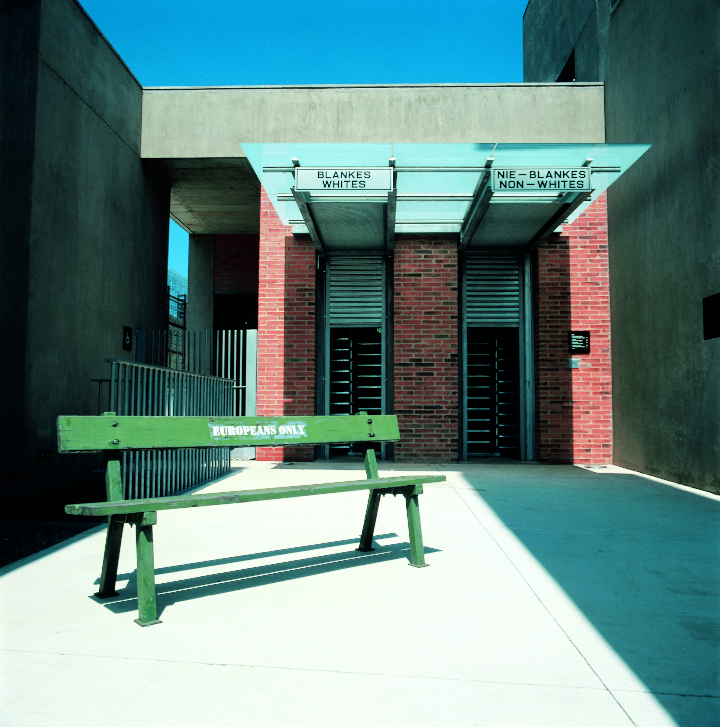 Apartheid Museum + Entrance