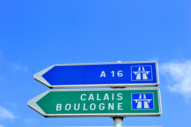 Calais & Boulogne Channel ports for ferry travel to the UK