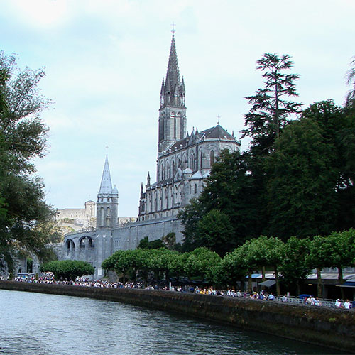 Book cheap flights to Lourdes, France