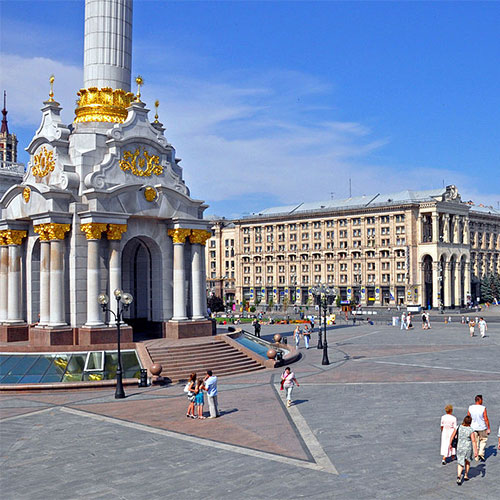 Book cheap flights to Keiv, Ukraine