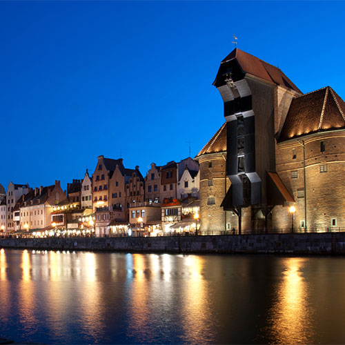 Book cheap flights to Gdansk, Poland