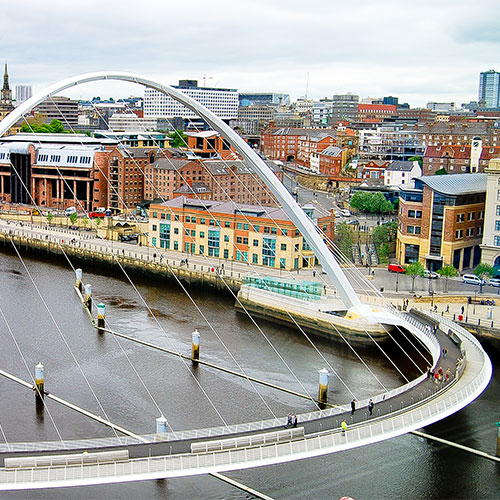 Book cheap flights to Newcastle, England