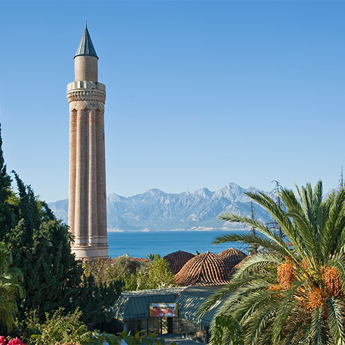 Book cheap flights to Antalya, Turkey