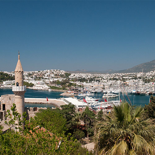 Book cheap flights to Bodrum, Turkey