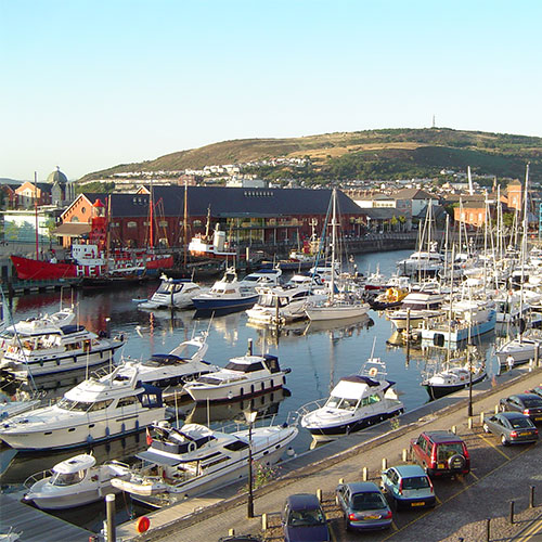 Book cheap flights to Swansea, Wales