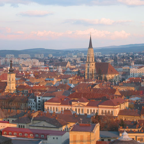 Book cheap flights to Cluj, Romania