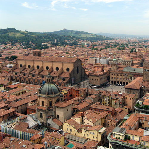 Book cheap flights to Bologna, Italy