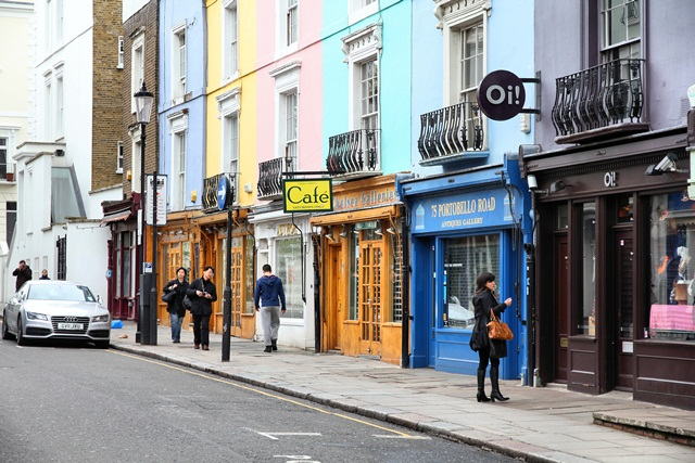 Shopping Arts & Culture in London's Notting Hill