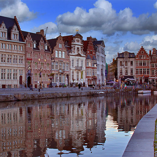 Book cheap flights to Ghent, Belgium
