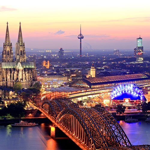 Book cheap flights to Cologne, Germany