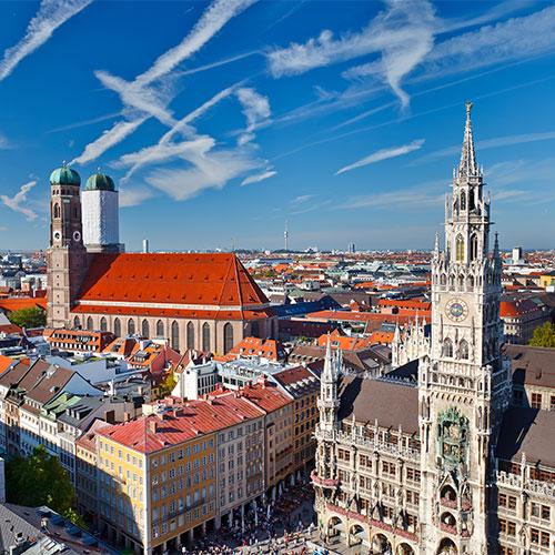 Book cheap flights to Munich, Germany