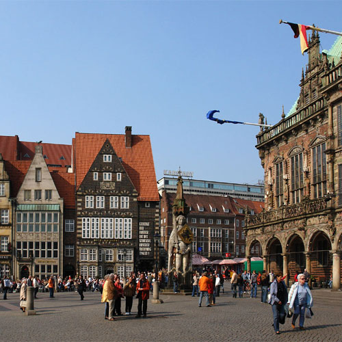 Book cheap flights to Bremen, Germany