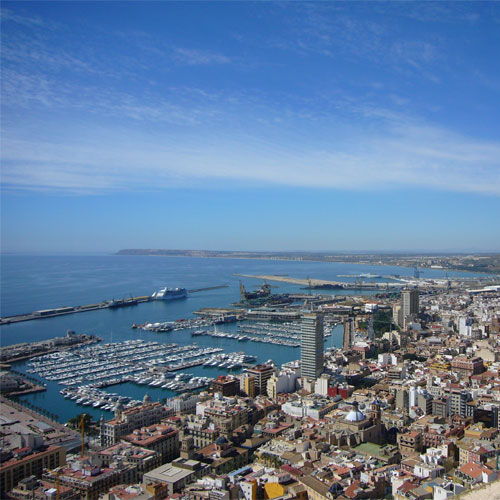 Book cheap flights to Alicante,Spain