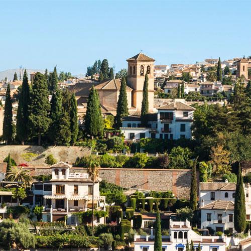 Book cheap flights to Granada, Spain