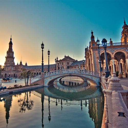 Book cheap flights to Seville,Spain