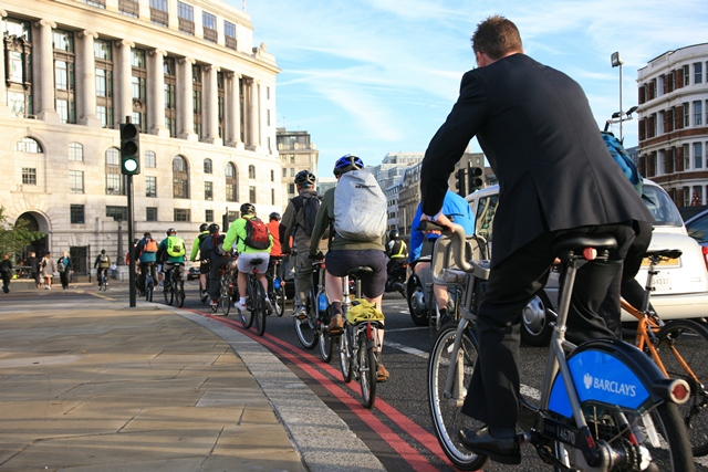 Barclays Bicycle Hire in London