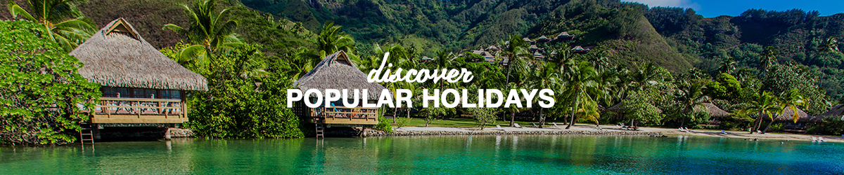 Explore destinations by holiday types