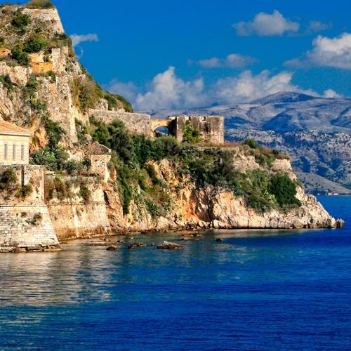 Book cheap flights to Corfu, Greece