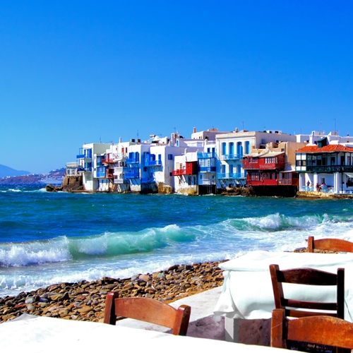 Book cheap flights to Mykonos, Greece