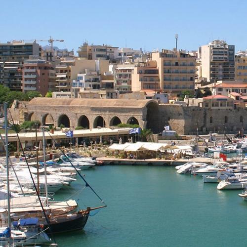Book cheap flights to Heraklion, Greece