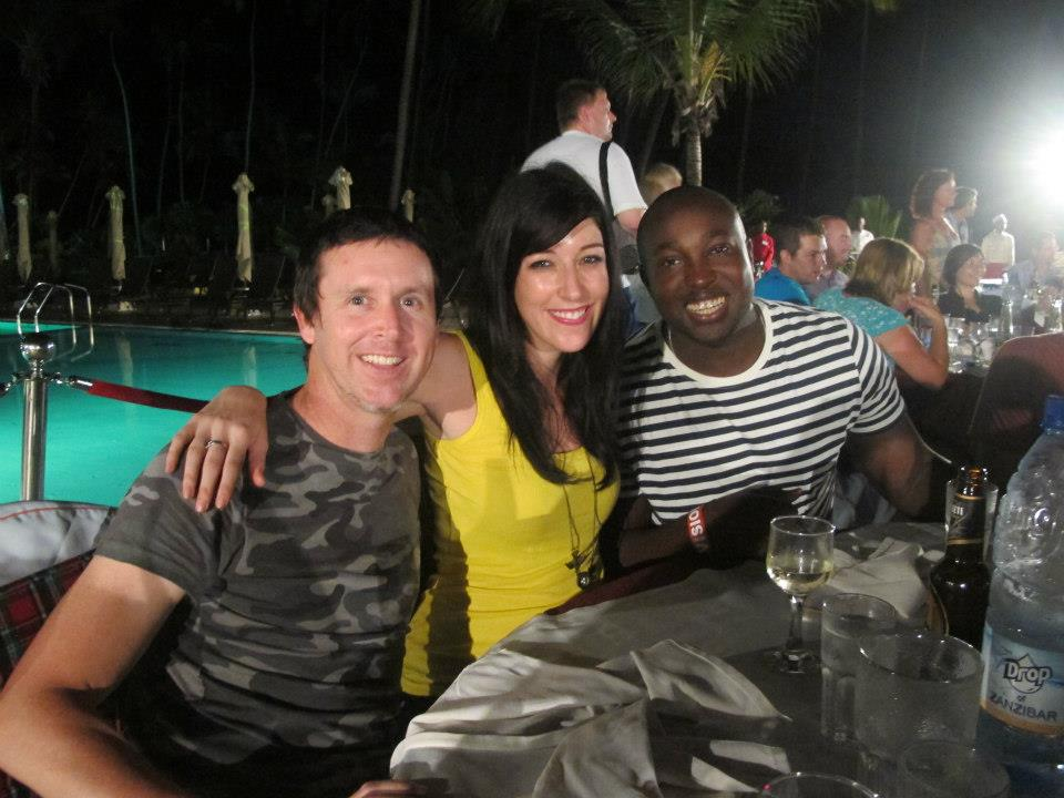 Simba from Top Billing, Barry Tuck and Kirsty Bisset