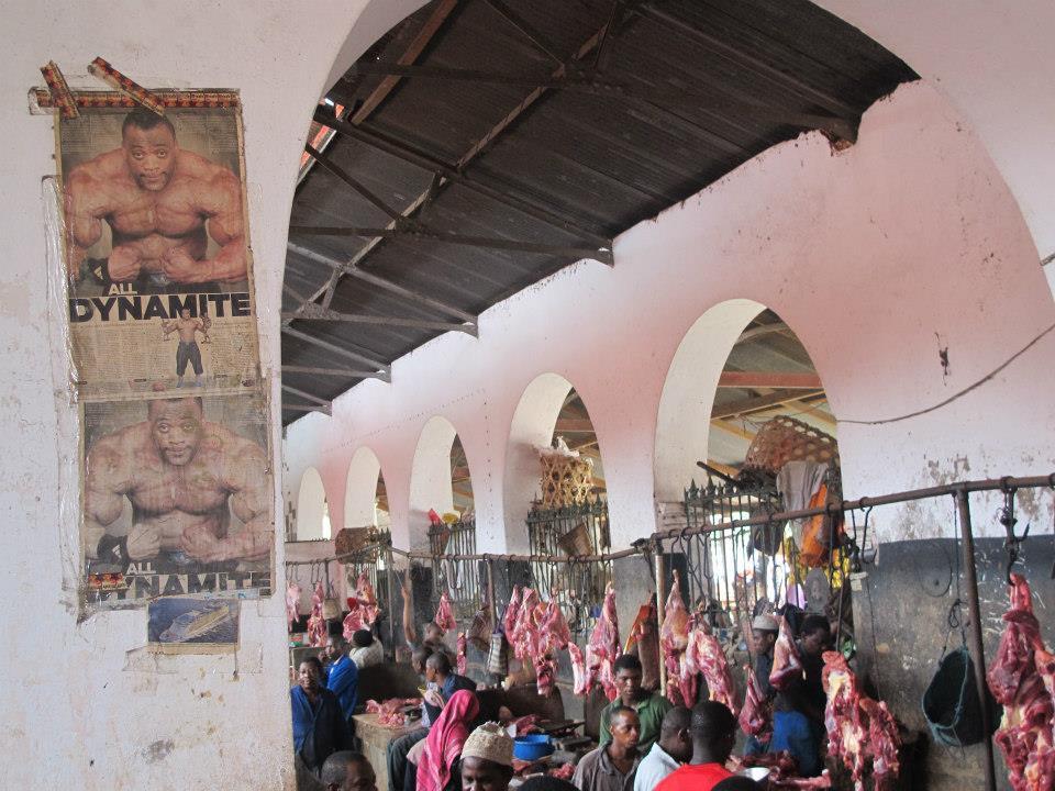 Stone Town Market in Zanzibar