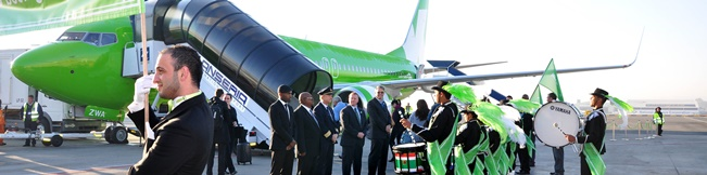 Kulula Airlines Boeing Opening